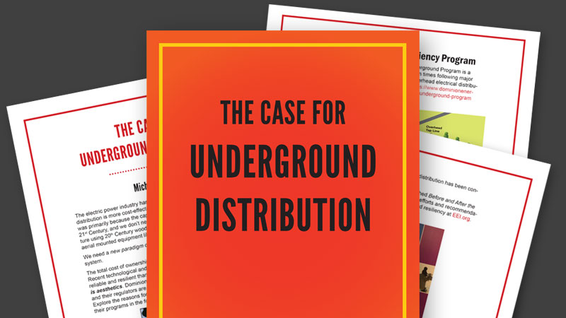 The Case for Underground Distribution document preview